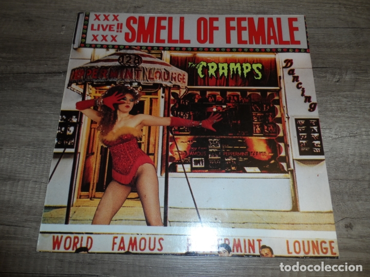 THE CRAMPS - SMELL OF FEMALE (UK 1983) (Música - Discos - LP Vinilo - Punk - Hard Core)
