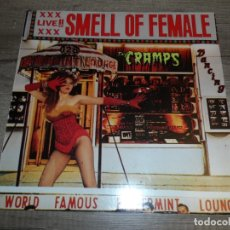 Discos de vinilo: THE CRAMPS - SMELL OF FEMALE (UK 1983). Lote 169413488