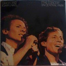 Discos de vinilo: SIMON AND GARFUNKEL. THE CONCERT IN CENTRAL PARK. DOBLE LP ESPAÑA, 2 DISCOS + LIBRETO. Lote 169414840