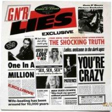 Discos de vinilo: GUNS N' ROSES – G N' R LIES -LP-. Lote 261558690
