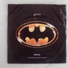 Discos de vinilo: PRINCE, BATDANCE, SINGLE EDICION ALEMANA 1989 WARNER BROS RECORDS. Lote 169427404