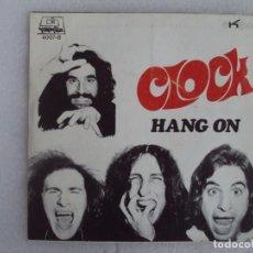 Discos de vinilo: CLOCK, HANG ON, YOUR SMILE, SINGLE PROMOCIONAL EDICION ESPAÑOLA 1971 EKIPO, DIMENSION. Lote 169428688