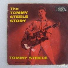 Discos de vinilo: TOMMY STEELE, THE TOMMY STEELE STORY, EP EDICION ESPAÑOLA AÑOS 60-70 DISCOS DECCA. Lote 169430536