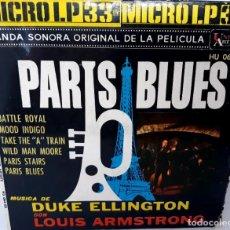 Discos de vinilo: SINGLE PARIS BLUES - LOUIS ARMSTRONG CON DUKE ELLINGTON - HISPAVOX AÑO 1962. Lote 169431244