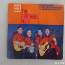 Discos de vinilo: THE BROTHERS FOUR, FOUR STRONG WINDS. EP EDICION ESPAÑOLA 1963 CBS. Lote 169431448