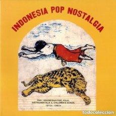 Discos de vinilo: INDONESIA POP NOSTALGIA LP PRECINTADO NUNCA USADO, TOTALMENTE NUEVO!!!. Lote 169445860