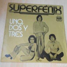 Discos de vinilo: SUPERFENIX, SG, UN, DOS Y TRES + 1, AÑO 1977. Lote 169453436