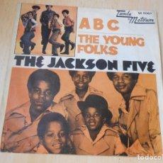 Dischi in vinile: JACKSON FIVE, THE, SG, ABC + 1, AÑO 1970. Lote 169458676