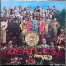 Discos de vinilo: THE BEATLES. SGT. PEPPERS LONELY HEARTS CLUB BAND. PARLOPHONE, UK 1967 (LP + ENCARTE PCS 7027) 1984. Lote 169459820