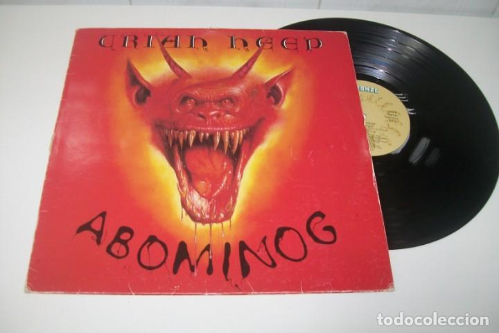 Uriah Heep Abominog Lp De 1982 Edicion Es Sold At Auction 169460392