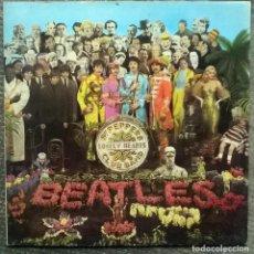Discos de vinilo: THE BEATLES. SGT. PEPPERS LONELY HEARTS CLUB BAND. PARLOPHONE, UK 1967 (LP + ENCARTE PCS 7027). Lote 169460788
