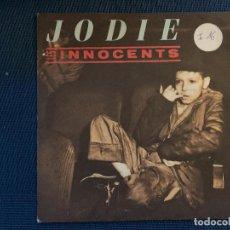 Discos de vinilo: LES INNOCENTS – JODIE LABEL: VIRGIN – 90292 FORMAT: VINYL, 7 , 45 RPM, SINGLE PAYS: FRANCE SORTIE. Lote 169462948