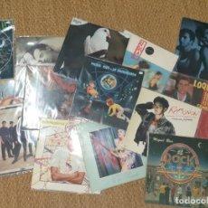 Discos de vinilo: LOTE DE 14 LP POP ROCK ESPAÑOL LOQUILLO MIGUEL RIOS ALASKA BOSE MECANO SANTANA ETC. Lote 169464088