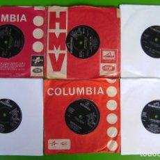 Discos de vinilo: LOTE 6 SINGLES INGLESES DE LOS 60:. Lote 169469904