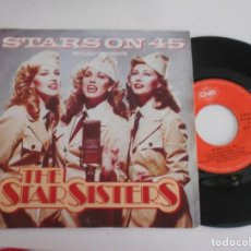 Discos de vinilo: THE STAR SISTERS-SINGLE STARS ON 45. Lote 169504268