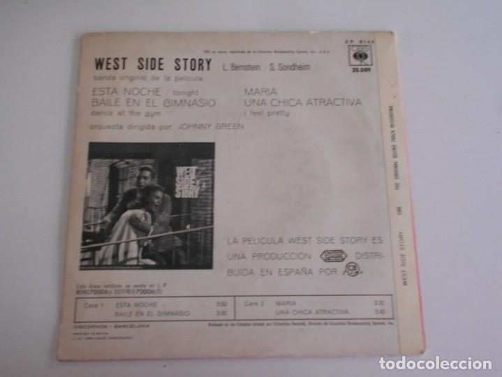 Discos de vinilo: WEST SIDE STORY-EP BSO DEL FILM - Foto 2 - 169512412