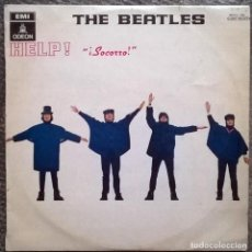 Discos de vinilo: THE BEATLES. HELP (SOCORRO). EMI-ODEON, SPAIN 1965 LP MOCL 136 / 1 J060-04257 M (1969). Lote 169524332