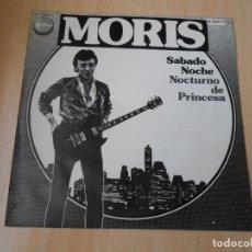 Discos de vinilo: MORIS, SG, SABADO NOCHE + 1, AÑO 1979 PROMO. Lote 169562152