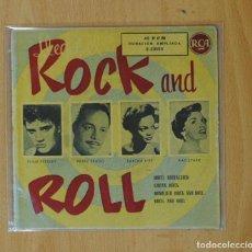 Discos de vinilo: ELVIS PRESLEY, PEREZ PRADO, EARTHA KITT & KAY STARR - HOTEL NOSTALGIA + 3 - EP. Lote 169564400
