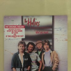 Discos de vinilo: THE HOLLIES- WHAT GOES AROUND...-ATLÁNTIC 1983 USA. Lote 169565037