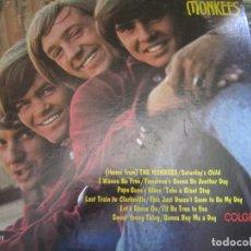 Discos de vinilo: THE MONKEES - INTROGUCING THE MONKEES LP - ORIGINAL U.S.A. - COLGEMS RECORDS 1966 MONOAURAL -. Lote 169566304