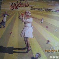 Discos de vinilo: GENESIS - NURSERY CRYME LP - ORIGINAL U.S.A. - CHARISMA RECORDS 1972 SCROLL LABEL FUNDA INT GENERICA. Lote 169568452
