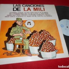Discos de vinilo: LAS CANCIONES DE LA MILI - JUAN PRADERA Y LOS CHARANGUEROS. Lote 169576960