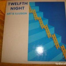 Discos de vinilo: TWELFTH NIGHT. ART & ILLUSION. MUSIC FOR NATION, 1984. MAXI-SINGLE. IMPECABLE (#). Lote 169589080