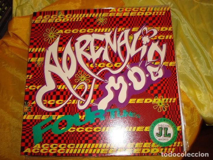 ADRELANIN M.O.D. FOUR TUNES E.P. MCA, 1988. MAXI-SINGLE. IMPECABLE (#) (Música - Discos - LP Vinilo - Electrónica, Avantgarde y Experimental)