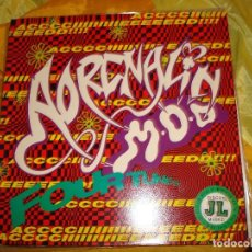 Discos de vinilo: ADRELANIN M.O.D. FOUR TUNES E.P. MCA, 1988. MAXI-SINGLE. IMPECABLE (#). Lote 169591460