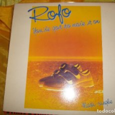 Discos de vinilo: ROFO. YOU´VE GOT TO MOVE IT ON. EPIC, 1984. MAXI-SINGLE. IMPECABLE (#). Lote 169591736