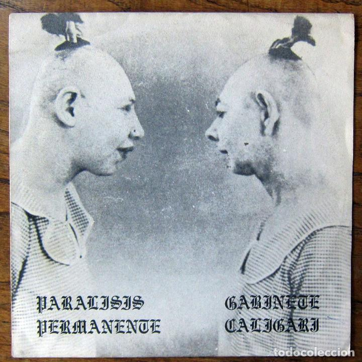 PARALISIS PERMANENTE - AUTOSUFICIENCIA, TENGO UN.. - GABINETE CALIGARI - GOLPES, SOMBRAS NEGRAS-1982 (Música - Discos de Vinilo - EPs - Grupos Españoles de los 70 y 80)