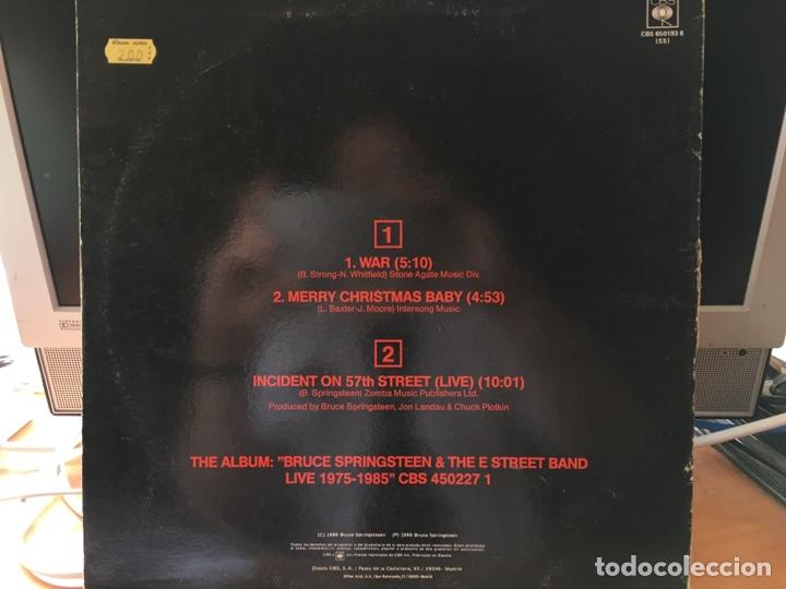 Discos de vinilo: Bruce Springsteen & The E Street Band – War (Maxi 3 Canciones) - Foto 2 - 169595524