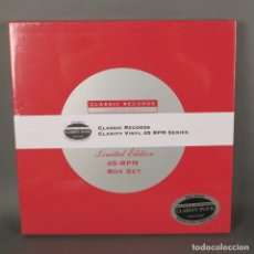 Discos de vinilo: LOUIS ARMSTRONG & DUKE ELLINGTON. DISCO DE VINILO BOX. PRECINTADO. CLASSIC RECORD BOX (BRD). Lote 169597520