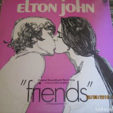 Discos de vinilo: ELTON JOHN - FRIENDS LP B.S.O. - ORIGINAL U.S.A. - PARAMOUNT RECORDS 1971 - . Lote 169597596