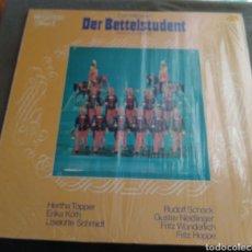 Discos de vinilo: DER BETTLESTUDENTS - HERTA TOOPER, ERIKA KÖTH, GUSTAV NEDINGER.... Lote 169603885