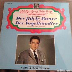 Discos de vinilo: LEO FALL / CAR ZELLER - DER FIDELE BAUER / DER VOGELHÄNDLER. Lote 169604545