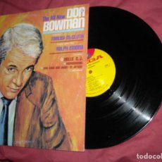 Discos de vinilo: DON BOWMAN LP THE ALL NEW 1972 USA COUNTRY. Lote 169621360
