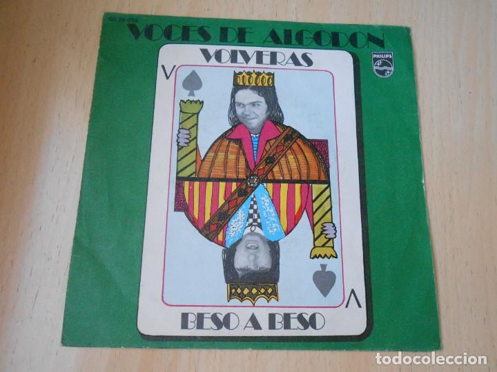 VOCES DE ALGODÓN, SG, VOLVERÁS + 1, AÑO 1971 (Música - Discos - Singles Vinilo - Grupos Españoles de los 70 y 80)