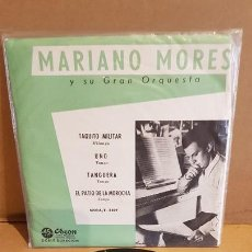 Discos de vinilo: MARIANO MORES Y SU GRAN ORQUESTA / TAQUITO MILITAR / EP - ODEON-ARGENTINA / MBC. ***/***. Lote 169628636