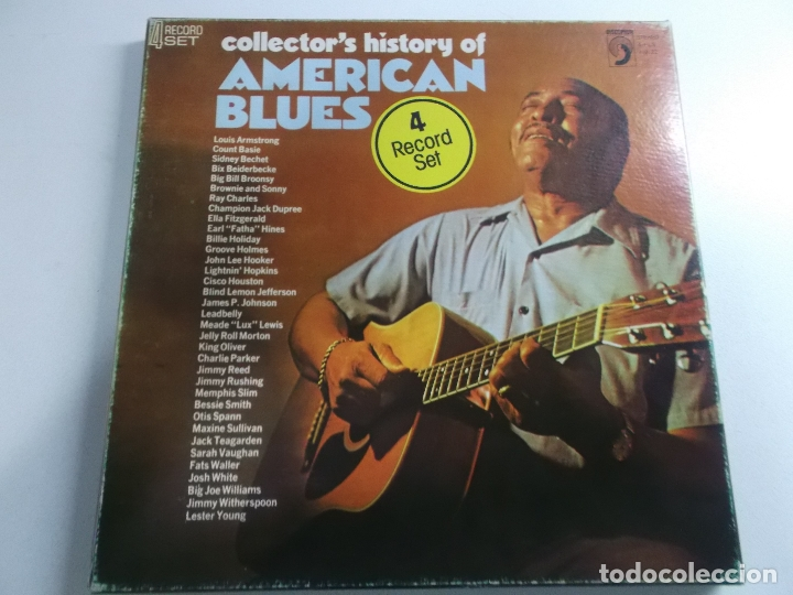 Collector's History Of American Blues, 4 lps ed americana