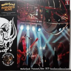 Disques de vinyle: MOTÖRHEAD – POISONED ALIVE -LP PICTURE WITH COVER-. Lote 169630272