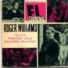 Discos de vinilo: ROGER WILLIAMS / EL CARDENAL / FELICIA + 2 (EP 1964). Lote 169635348