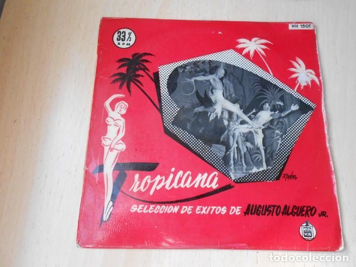 AUGUSTO ALGUERÓ JR., EP, TROPICANA + 5, AÑO 1959 (Música - Discos de Vinilo - EPs - Orquestas)