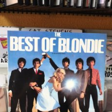 Discos de vinilo: THE BEST OF BLONDIE. Lote 169646365