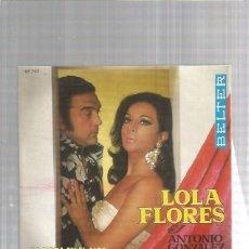 Dischi in vinile: LOLA FLORES LA CASA EN EL AIRE. Lote 169653548