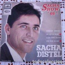 Discos de vinilo: SACHA DISTEL SACHA SHOW VOL. 1 MONSIEUR CANNIBALE EP 1966. Lote 169676624