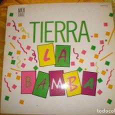 Discos de vinilo: TIERRA. LA SAMBA. ZAFIRO, 1987. MAXI-SINGLE. IMPECABLE (#). Lote 169677828