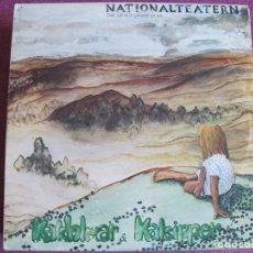 Discos de vinilo: LP - NATIONALTEATERN – KÅLDOLMAR & KALSIPPER (FOLK ROCK) (DOBLE DISCO, SWEDEN, MNW RECORDS 1976). Lote 169678068