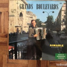 Discos de vinilo: AIMABLE ?– GRANDS BOULEVARDS SELLO: MODE DISQUES ?– MDINT. 9132 SERIE: SÉRIE INTERNATIONALE – FORMA. Lote 169685784